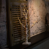 Dekoratives weiße Birken-Baum-Licht 60cm24LEDs für Garten-/Schlafzimmer-/Wohnzimmer-Dekoration