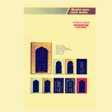 Preghiera musulmana elettrica di disegno caldo LED Digital che comunica l'orologio di parete dell'allarme di Azan