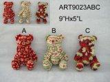Decoração de Natal Urso de malha -3sst