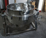 衛生ステンレス鋼のガス暖房のJacketedやかん