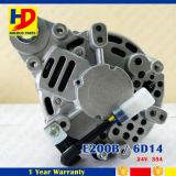 미츠비시를 위한 E200b 6D14 디젤 엔진 발전기
