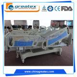 7 base eléctrica lujosa del hospital ICU de la inclinación lateral de los motores de Linak de la función (GT-BE5039)
