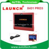 2017 самый последний первоначально старт X431 PRO3 блока развертки тележки PC WiFi/Bluetooth таблетки старта X431 PRO3 10.1 '' сверхмощный