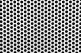 Maglia perforata decorativa del metallo con differenti figure del foro