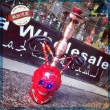 Narguilé en verre de fumage Shisha de narguilé de forme de crâne de la vente Bw212 chaude