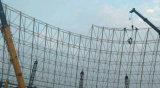 ボルト球の接続の水世界のための鋼鉄トラススペースフレーム