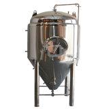 Fermentadora cónica de la elaboración de la cerveza casera del acero inoxidable con las piernas
