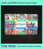 Cartão do membro dos TERMAS feito do PVC com listra magnética (ISO 7811)