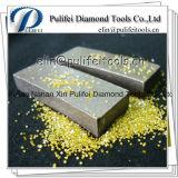 Lege Blad van de Las van het Segment van de Diamant van het Hulpmiddel van de Snijder van de cirkel het Zilveren voor Steen