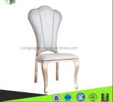 Aço inoxidável luxuoso de Glod Rosa do projeto que janta a cadeira