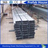 Fabricação de aço Purlin de aço usado da forma formada a frio de C para a venda