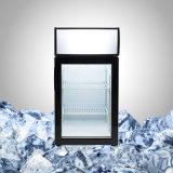 Congelador desktop para o gelado