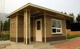 Ecomomical Earthquake-Proof pré-fabricou o abrigo reforçado FRP da casa com facilidades elétricas & do encanamento