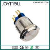 Pulsador impermeable IP68 del metal eléctrico del Ce
