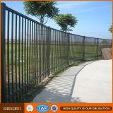 La frontière de sécurité en acier galvanisée lambrisse la frontière de sécurité de jardin enduite par poudre