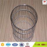 Bandeja e cesta do engranzamento de fio do aço inoxidável