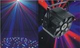 Lumière chaude de disco d'étape du trou RGBWA de fleur de yeux de la vente 8 (ICON-A039E)