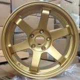 Rotella forgiata della lega per rotella dell'alluminio della rotella della lega di Qualty dell'orlo dell'automobile sportiva l'alta
