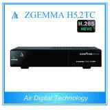 Новый спутник коробки Zgemma + близнец земный/коробка комбинированное DVB кабельного телевидения S2 + DVB T2/C + DVB T2/C Zgemma H5.2tc