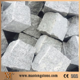 Pietra spaccata del ciottolo del granito della superficie G603