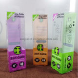 UV кабель данным по печатание упаковывая пластичную коробку