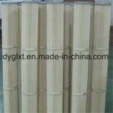 Cartucho de filtro revestido de alta temperatura y largo de Nomex