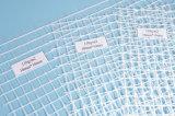 Сетка волокна конкретная, усиленная сетка 1X50m 160GSM 5X5mesh померанцовое Coloralkali Res стеклоткани