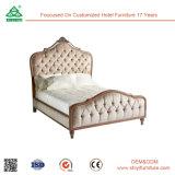 マレーシア様式の純木のベッド