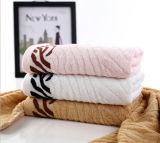 Personalizzare il tovagliolo di bagno del cotone del jacquard dell'hotel di marchio