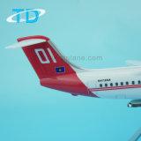 Modèle de résine de cadeau d'aviation d'affaires de Bae 146 (RJ85)