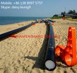 Fiah Rahmen gebildet vom speziellen HDPE Marinerohr