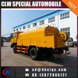 Carro de alta presión de la limpieza de la alcantarilla del carro de la succión de la alcantarilla de Dongfeng 10t 12t