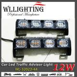 12W de mini Lichte Staaf van de Adviseur van de Pijl van het Verkeer