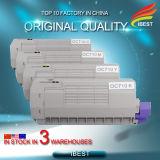 Cartucho de toner compatible de Oki C710 C711 del color de la Foto-Calidad 710b 710c los 710m 710y