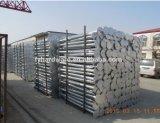 El mejor precio de tierra de metal de tornillo galvanizado Anclaje de poste de hormigón