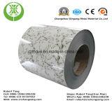 Les graines de marbre en aluminium préimprimées par PVDF pour le matériau de toiture et de mur