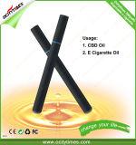 Wegwerfe Zigarette der Ocitytimes Qualitäts-500puffs/800puffs Cbd des Öl-