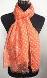 Nuova promozione Paisley&Dots Pareo d'imitazione/sciarpa (HWBPS760R) di Arrivial