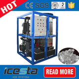 El refresco de equipos de fabricación de la máquina de hielo del tubo 2t / 24 h