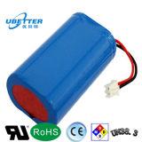 3.7V 18650 ODM van het Pak van de Batterij van het Lithium