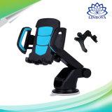 Support de téléphone de support de véhicule de pare-brise de cuvette d'aspiration rotation de 360 degrés pour des smartphones