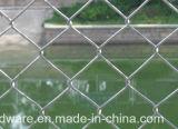 Engranzamento de fio galvanizado da cerca do engranzamento da ligação Chain de engranzamento de fio do ferro