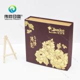 Caixa de presente quente maravilhosa da venda e do papel de boa qualidade com tela