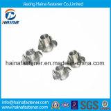 DIN1624 noce delle branche placcata zinco dell'acciaio inossidabile quattro