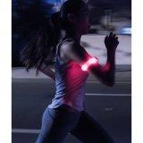 Bande de sécurité à bras LED réfléchissante pour courir la nuit