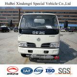 caminhão de petroleiro do combustível de petróleo da gasolina da gasolina do euro 4 de 6cbm Dongfeng com motor Diesel