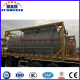 20feet 24cbm ISO 탱크 콘테이너에 있는 화학 액체 유조선 콘테이너