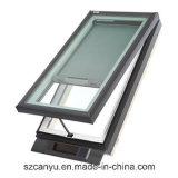 Handelssystems-Aluminiumoberlicht-Fenster der Garantie-10years mit Standard As2047