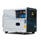 генератор 1-Cylinder 5.5kw супер молчком тепловозный с колесами Air-Cooled
