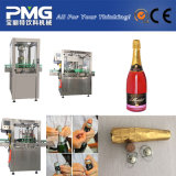 Sekt und Champagne, die Maschine bekorken